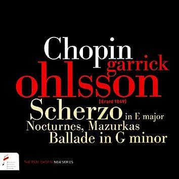 Chopin: Scherzo, Nocturnes, Mazurkas (10-13 April 2017)