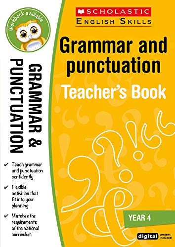 Grammar and Punctuation Teacher Resource for teaching children ages 8 to 9...