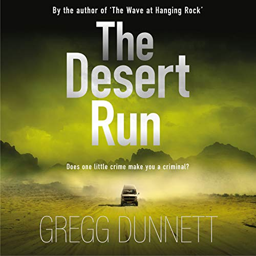 The Desert Run audiobook cover art