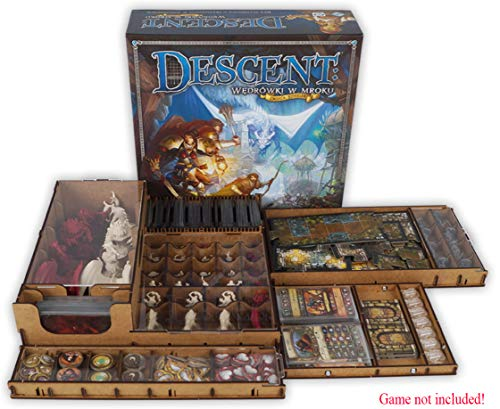 docsmagic.de Organizer Insert for Descent 2nd Edition Box - Einsatz