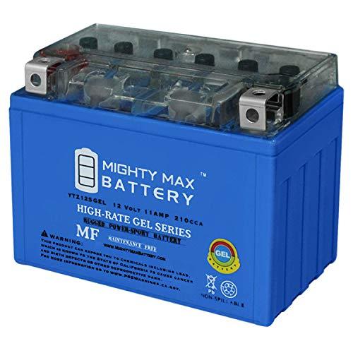 Mighty Max Battery 12V 11AH Gel Battery for Honda 750 VT750C,Shadow Spirit Aero 2007-2009 Brand Product
