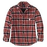 Carhartt Camiseta de forro polar para hombre de Workwear Oxblood S