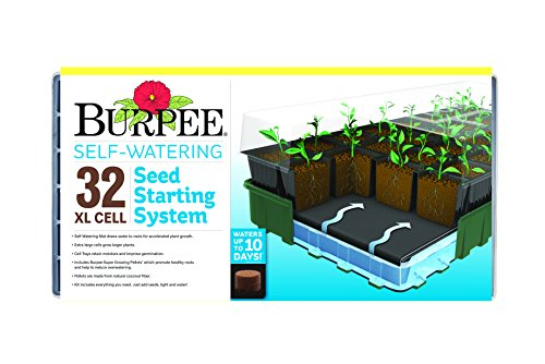 Burpee Self-Watering 32XL Cell Seed Starter Tray  $20 at Amazon
