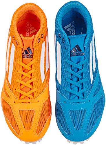 adidas Unisex-Erwachsene techstar Allround 3 Laufschuhe, Blau (Solblu/Run), 44 2/3 EU