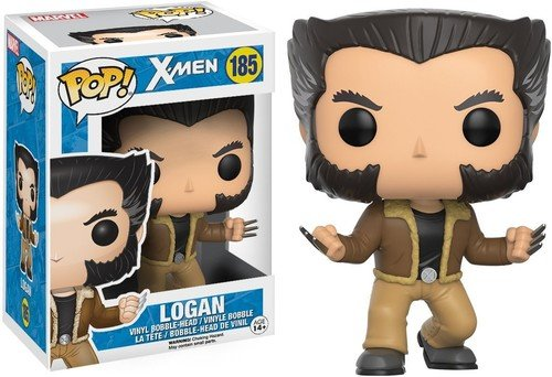 Funko - POP! Bobble Colección X-men - Figura Logan (12458)
