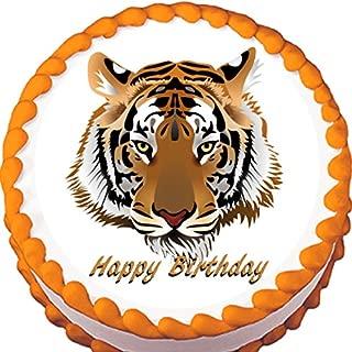 Tiger Edible Cake Topper