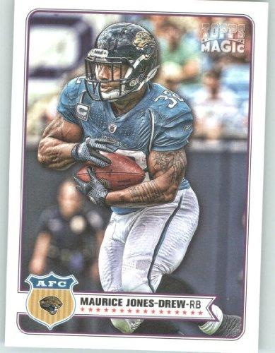 2012 Topps Magic Football Card #190 Maurice Jones-Drew