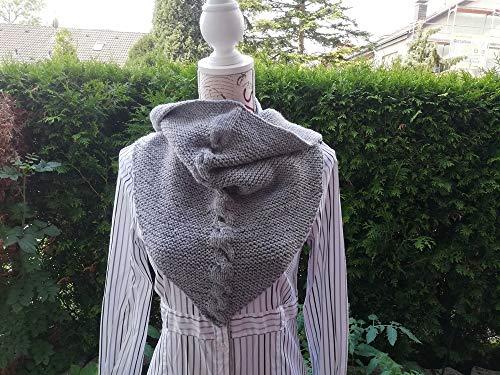 Strickanleitung Tuch mit Zopf stricken: Ideal auch für Anfänger