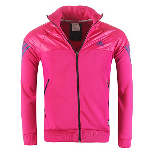adidas Originals Track Jacket Herren Jacke TC 3S KN Ttop P86521 Climalite True Colours Edition Pink (S)