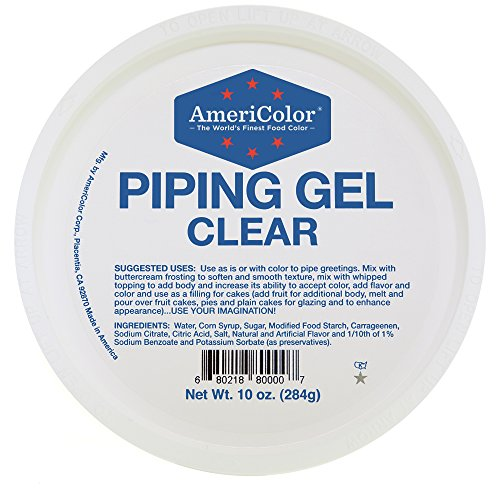 Clear Piping Gel