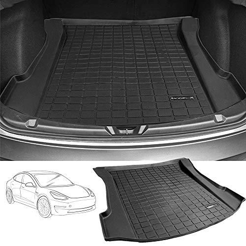 HZGrille All Season Protection Cargo Mat/Trunk Liner for Tesla Model 3