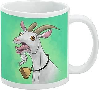 Screaming Goat White Mug