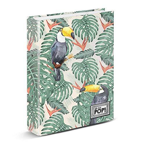 Oh My Pop! Toucan-Ring Binder
