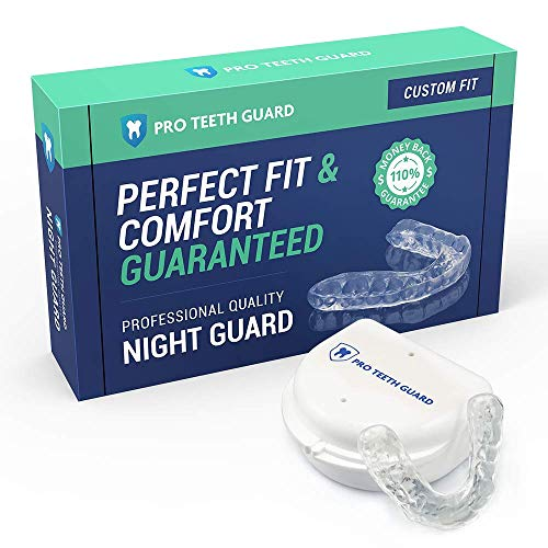 Custom Dental Night Guard for Teeth Grinding - Pro Teeth Guard. 110% Money Back Guarantee. Size: Adult-Female.