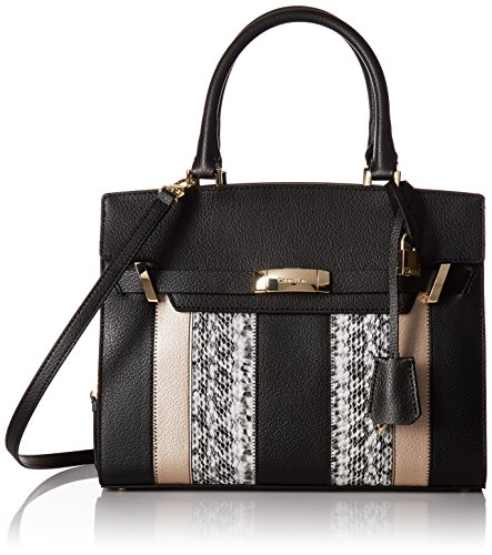 Calvin Klein Brooke Novelty Tote, Patchwork Combo