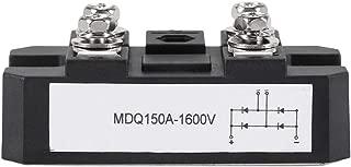 Bridge Rectifier - Single-Phase Diode Bridge Rectifier 150A Amp High Power 1600V (Black)