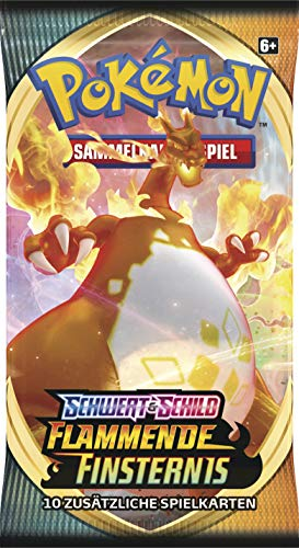 Pokemon Flammende Finsternis - 1 Booster - Deutsch