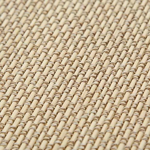 Rideau en Bambou Tapis de Bambou de Style Japonais, Soie de Bambou Naturelle de Haute Qualité Sélectionnée, 60/80/90/100 cm (l) X200 cm (h),Peut etre Utilisé dans Les Hôtels, Les Salons de thé, etc.