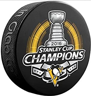Sher-wood Stanley Cup Champions Souvenir Hockey Puck - 2016 Penguins