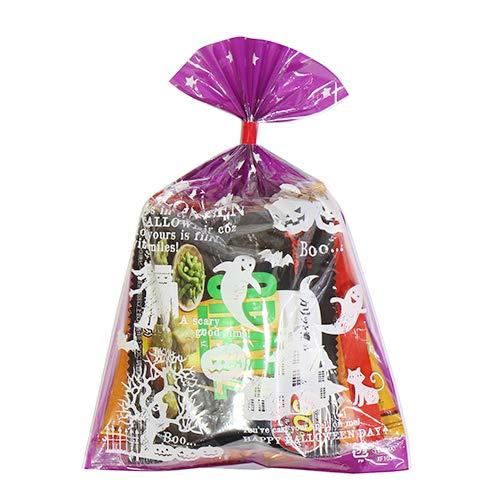 ハロウィン袋 175円 ミニおつまみおせんべい菓子 詰め合わせ 駄菓子 袋詰め おかしのマーチ