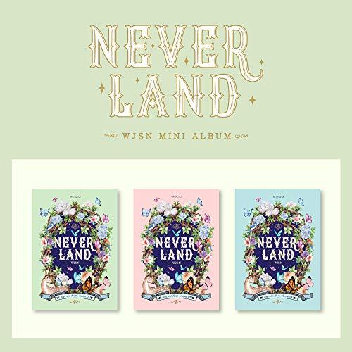 Starship Entertainment WJSN Cosmic Girls - Neverland (8th Mini Album) Album+Pre-Order Benefit+Folded Poster+Extra Photocards Set (I ver.)