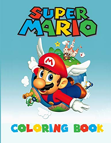 Super Mario Coloring Book: Amazing Activity Book For Kids and any fans of super mario (super mario book level)