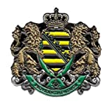 Pin Anstecker Königreich Sachsen Wappen