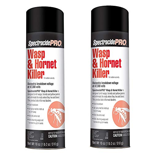 SpectracidePRO Wasp & Hornet Killer (Aerosol) (HG-30110) (18 oz) -2 Pack