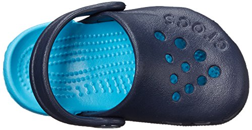 [クロックス]サンダルクロッグエレクトロキッズ10400ネイビー/エレクトリックブルー12.0cm