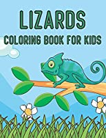 Lizards Coloring Book For Kids: Printable Little Lizard Love Coloring Book for Kids and Preschoolers - Funny Activity Book Gifts for Lizard Lovers, Lizard Gifts for Girls, Boys, and Kids