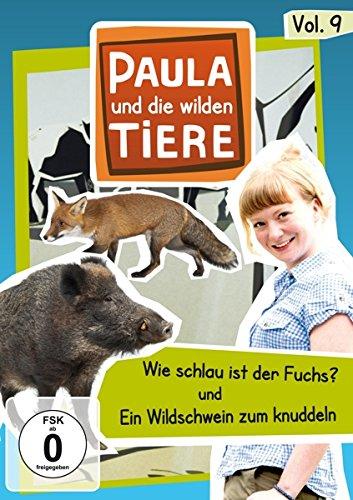 Paula und die wilden Tiere, Vol. 9: Wie schlau ist ein Fuchs/Ein Wildschwein zum knuddeln