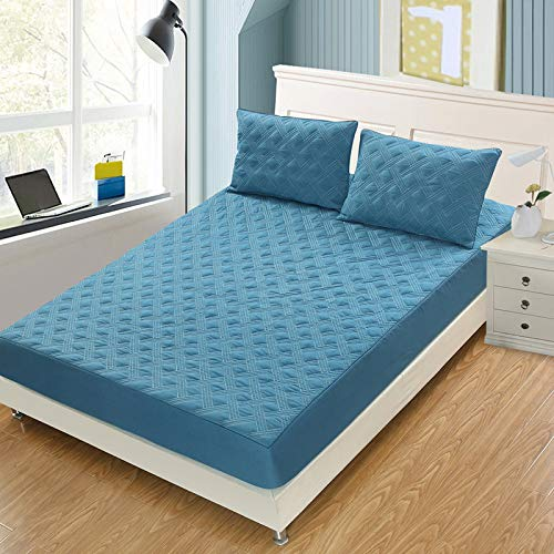 haiba sábana de cama doble microfibra cepillada y antiarrugas, una sola pieza 120x200+25