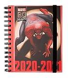 Grupo Erik - Agenda escolar 2020/2021 Semana vista Marvel, 11 meses (15,5x19 cm) (ASV2008)