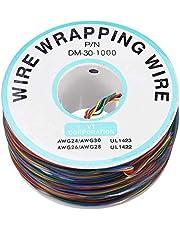 DollaTek 8 kleuren OK Draad 30AWG Wrapping Wire Line Tin Plated Koper Vliegende Jumper Kabel 280m
