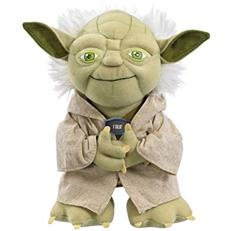 Star Wars - SW02367 - Yoda, Plüschfigur mit Sound, medium