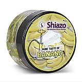 Shiazo 100gr, Dampfsteine Steam Stones für Shisha und Shisha mit 40Aromen und Düfte wählbar Banane