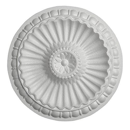 DECOSA Rosette Desire, weiß, 1 Stück à Ø 28 cm