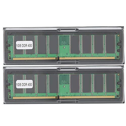 DDR 2 GB Kit (2 X 1 GB) 400 MHz PC-3200 Desktop-Computer-Speichermodul 2,6 V 184-Pin-RAM-Speichermodul Doppelseitiges 16-Korn-DDR Voll Kompatibel für Intel/AMD