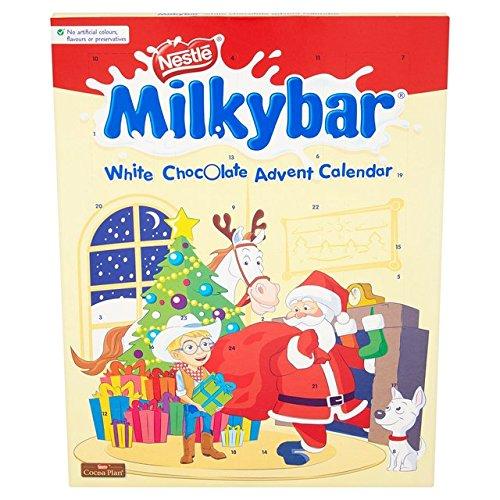Milkybar Calendario de Adviento de chocolate blanco 2018