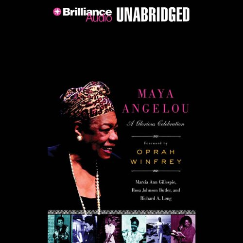 Maya Angelou audiobook cover art