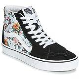 Vans Mens U SK8 HI Garden Floral True White Size 4.5