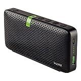 LEITZ Cassa stereo portatile per conferenza bluetooth - Nero - 65190095...