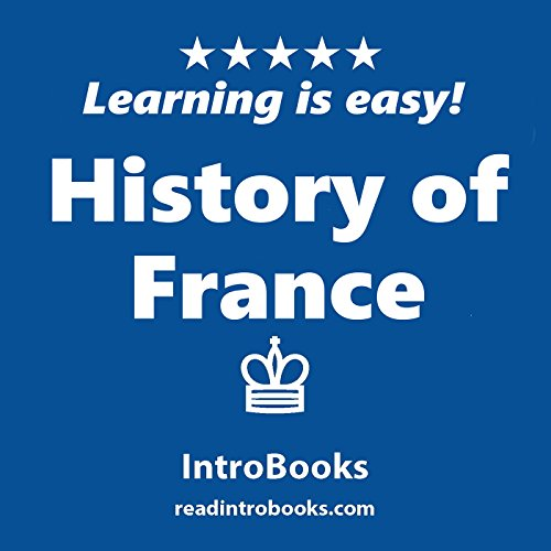 History of France audiobook cover art