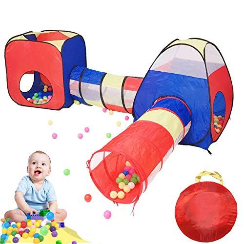 Game House Opvouwbaar speelgoed voor kinderen Plastic kamer voor kinderen Opblaasbare tuin Ballenbad Kinderen Kruiptunnel