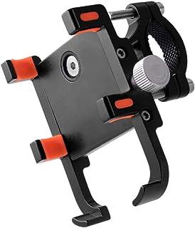 Garneck Suporte de telefone para motocicleta GPS Navigator Mount Guidão Suporte de telefone ajustável para motocicleta (pr...