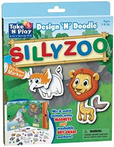 Precio por piso Silly Zoo - Design Design Design 'N' Doodle by Patch Products  100% garantía genuina de contador
