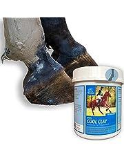 EMMA Arcilla refrigerante para Caballos Arcilla de ácido acético para Caballos I Libre de dopaje I 1,5 kg I con Hierbas I Pasta de Arcilla curativa regenera ligamentos, tendones,