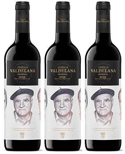 Valdelana Seleccion Tempranillo Reserva spanische Weine 2014 (3 x 0.75 l)