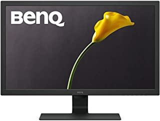 BenQ GL2460HM 24 Inch 1080p Gaming Monitor, HDMI, DVI, Built-In Speakers, Eye Care Technology, Low Blue Light, ZeroFlicker, Energy Star Certified Monitor, VESA mountable