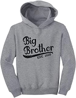 Tstars Gift for Big Brother 2020 Boys Toddler Hoodie